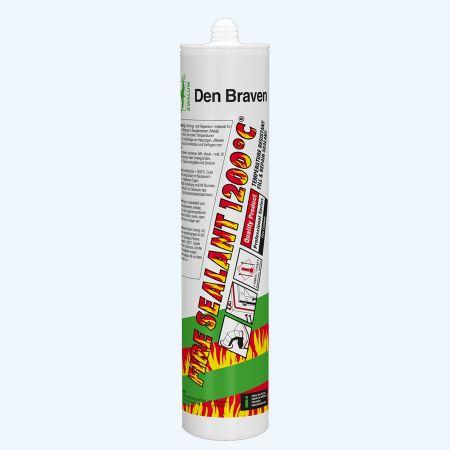 Fire sealant 1200°C 310 ml (zwart)