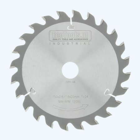 HM-zaagblad Industrial 150 x 20 mm T=24