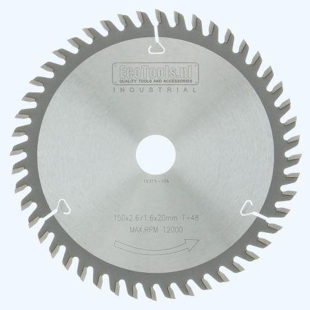 HM-zaagblad Industrial 150 x 20 mm T=48