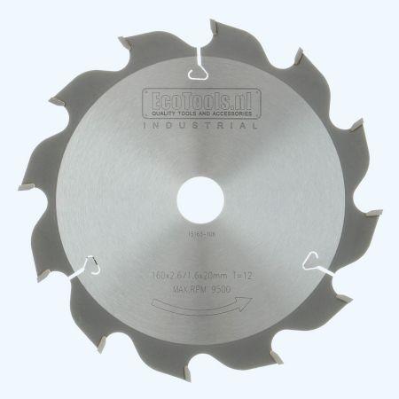 HM-zaagblad Industrial 160 x 20 mm T=12