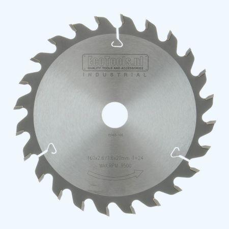 zaagblad Industrial 160 x 20 mm T=24