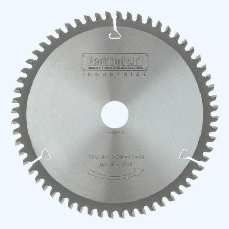 HM-zaagblad Industrial 160 x 20 mm T=60
