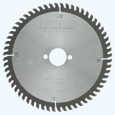 zaagblad Industrial 190 x 30 mm T=60