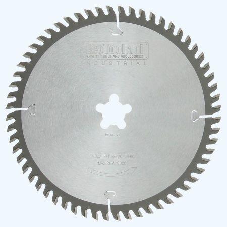 zaagblad Industrial 190 x F-20 mm T=60