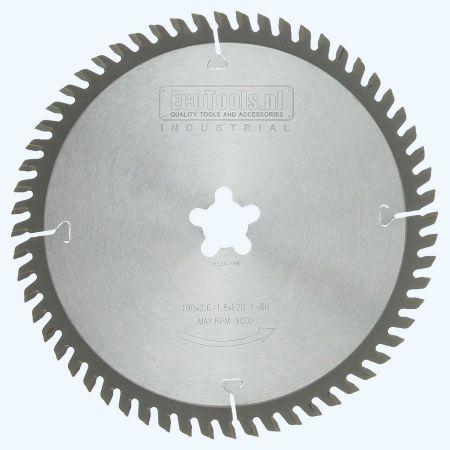 zaagblad Industrial 190 x 30 mm T=60 (vlak-daktand)