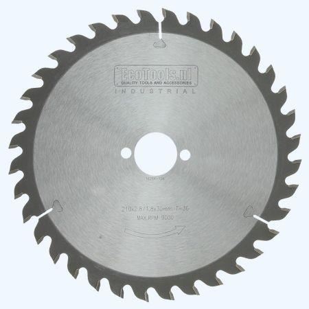 zaagblad Industrial 210 x 30 mm T=36