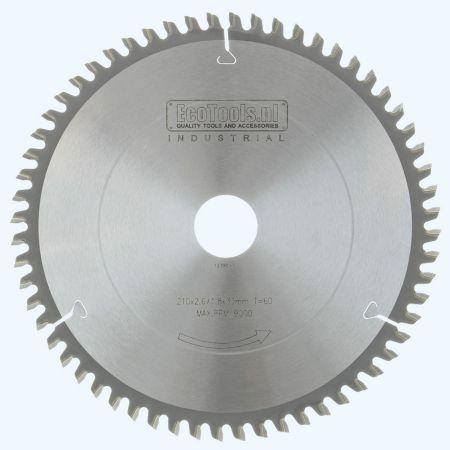 HM-zaagblad Industrial 210 x 30 mm T=60 (vlak-daktand)