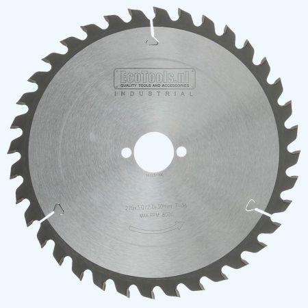 zaagblad Industrial 225 x 30 mm T=36