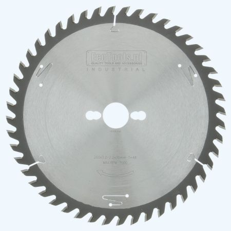 HM-zaagblad Industrial 260 x 30 mm T=48