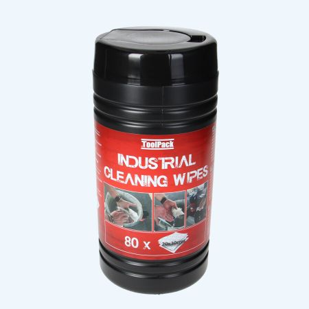 TP Industrial cleaning wipes (80 stuks in pot)