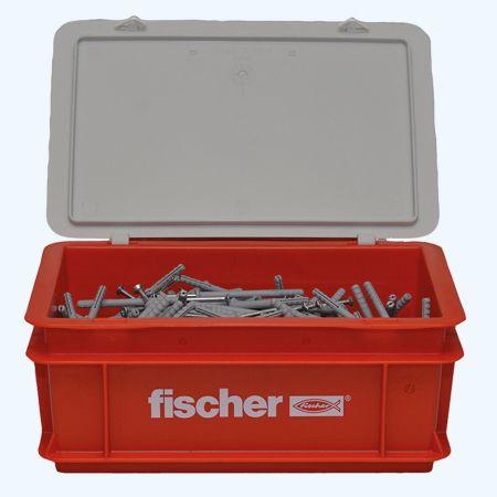400 st fischer nylon slagplug M6 x 60 mm (in krat)