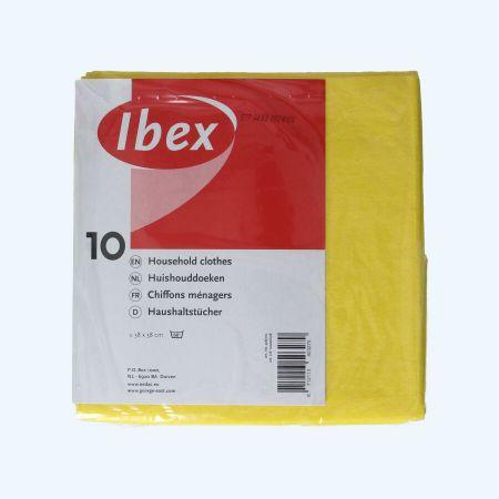 Huishouddoekjes geel (10 stuks)