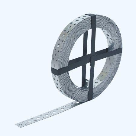 Montageband / windverband 25 meter 20 x 1.0 verzinkt
