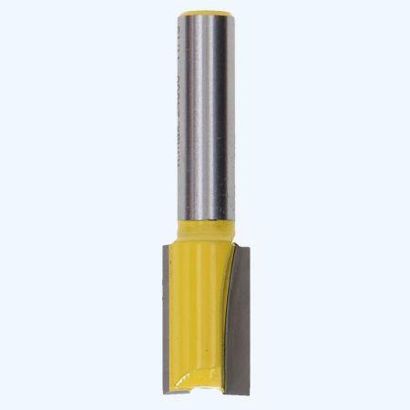 Groeffrees 12 mm met schacht van 8 mm
