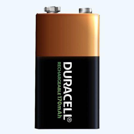 Duracell NiMH oplaadbare batterij 9 Volt block