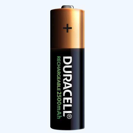Duracell NiMH oplaadbare batterij AA (4 stuks)