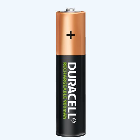 Duracell NiMH oplaadbare batterij AAA (4 stuks)