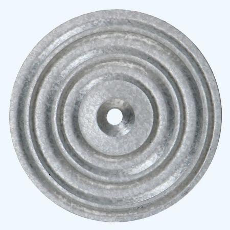 50 stuks isolatie onderlegplaat 70 mm verzinkt