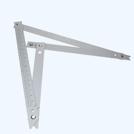 Opvouwbare bouwhaak 600 mm