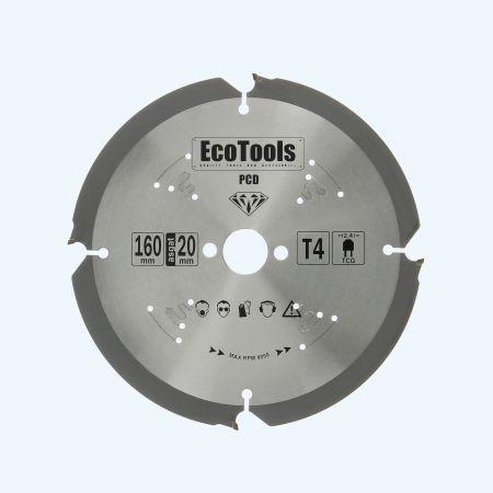 PCD zaagblad 160 x 20 mm T=4
