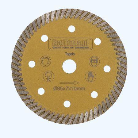 Precisie zaagblad 85 x 10 mm met 20 tanden