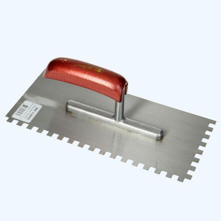 Melkmeisje plakspaan 280 x 130 mm met 6 mm tanden