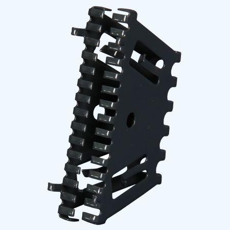 Bijenbekje RAL7016 stootvoegrooster 70 mm (10 stuks)