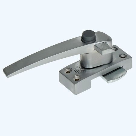 Raamboompje Aluminium links met drukknop