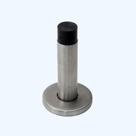 RVS deurstopper 50 x 84 mm wandmodel