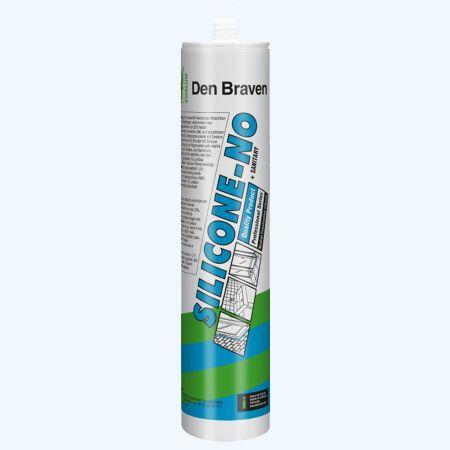 Silicone-NO + sanitairkit  310 ml (wit)