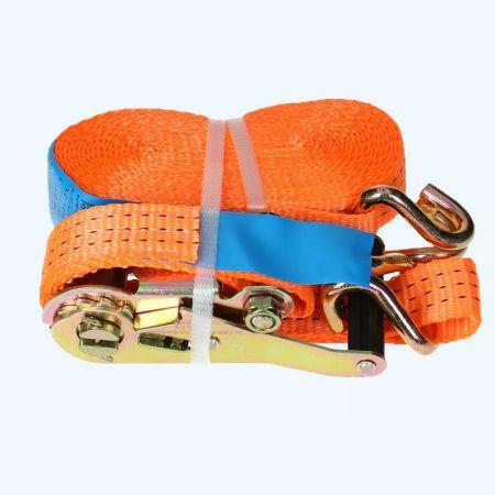 2-delige spanband 2500 kg - 6,5 meter