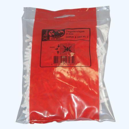 Melkmeisje tegelkruisjes 4,0 mm (zak á 250 stuks)