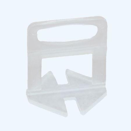 Tegel nivelleer clips 2,0 mm (100 stuks)