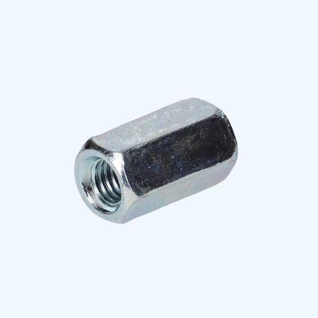 100 st zeskant-verbindingsmoeren M6