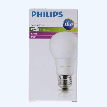 Philips LED lamp E27 5.5W