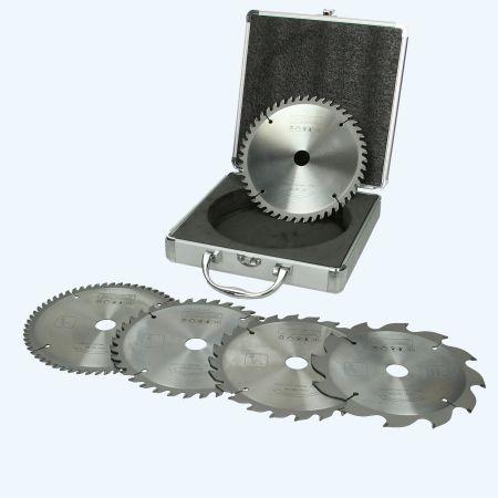 5-delige set HM-zaagbladen PROF 160 x 20 mm