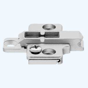 Blum kruismontageplaat 0 mm
