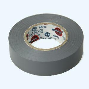 Isolatietape 19 mm x 25 meter grijs
