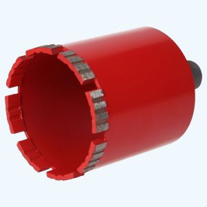 "Diamant dozenboor R1/2"" NAT abrasief 82 mm (rood)"