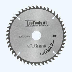 zaagblad 200 x 30 mm T=48