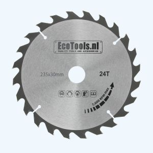 zaagblad 235 x 30 mm T=24