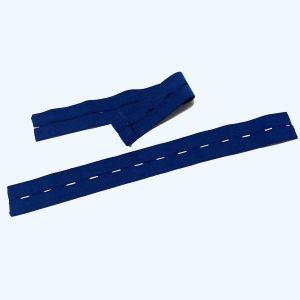 Elastische riem voor kniebeschermers harmonica
