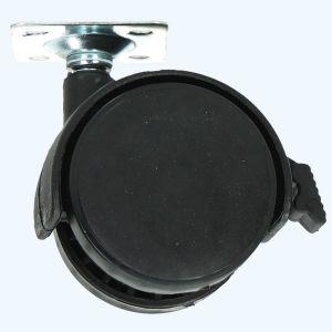 Meubelwiel MZR 40 mm - met rem - 25 kg