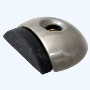 RVS deurstopper 55 x 18 mm vloermodel