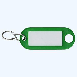Sleutellabel groen
